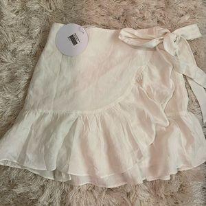 NWT princess polly charmed life ruffle mini skirt